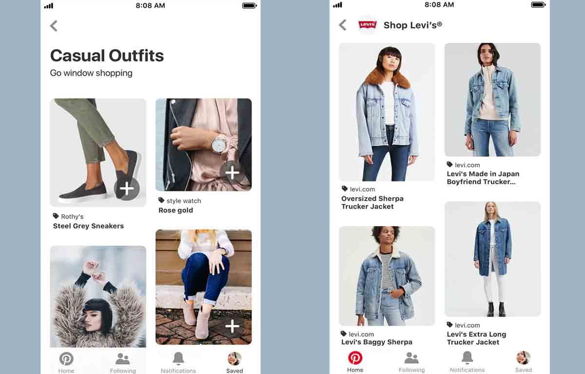 Pinterest hace más fácil la venta para empresas
