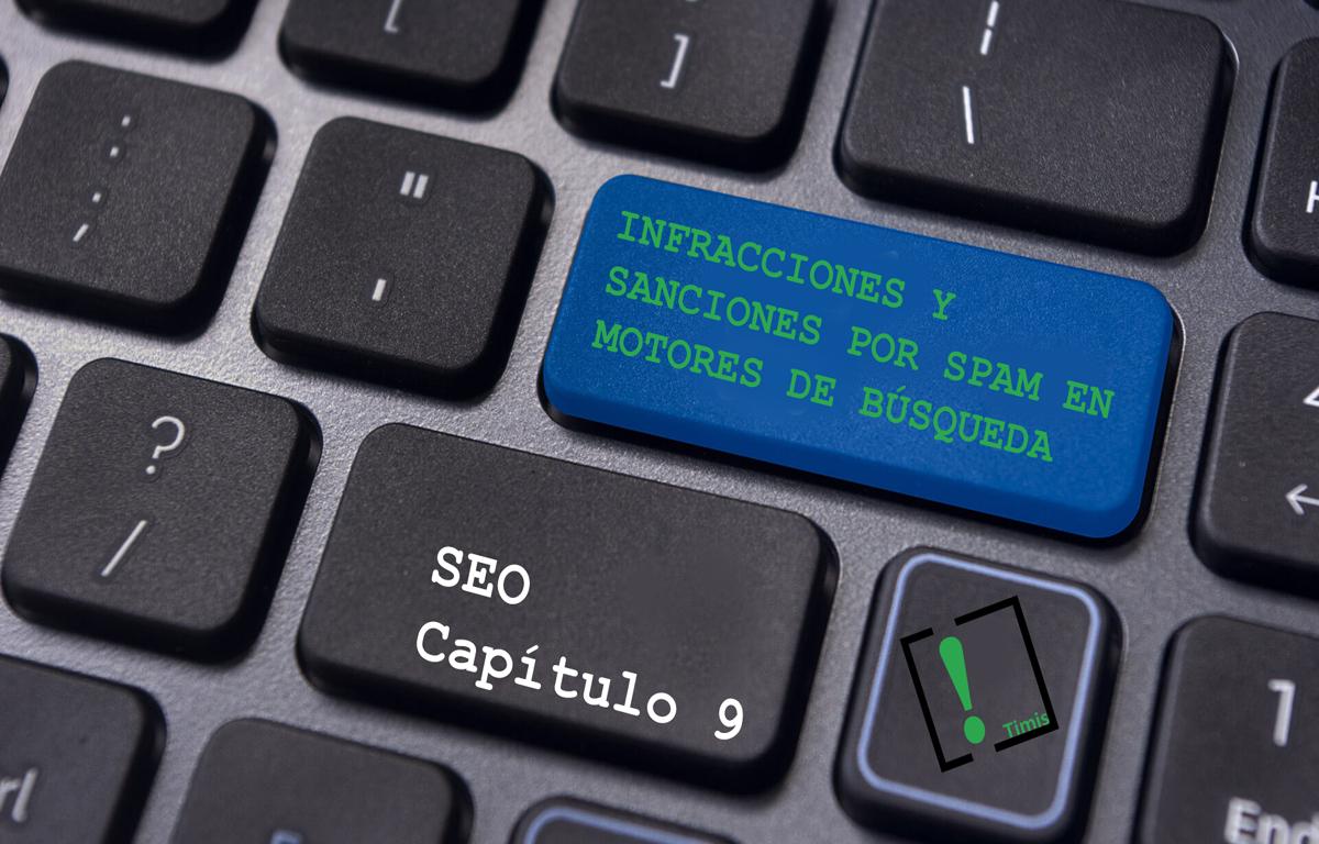 Infracciones y sanciones por spam en los motores de búsqueda