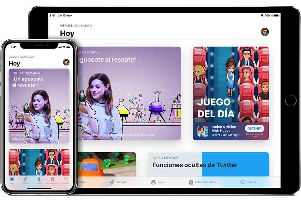 Apple acusada de favorecerse en los resultados de App Store